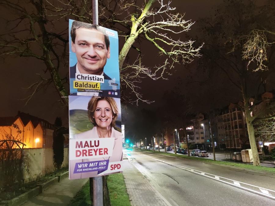 Infratest: SPD in Rheinland-Pfalz stärkste Kraft