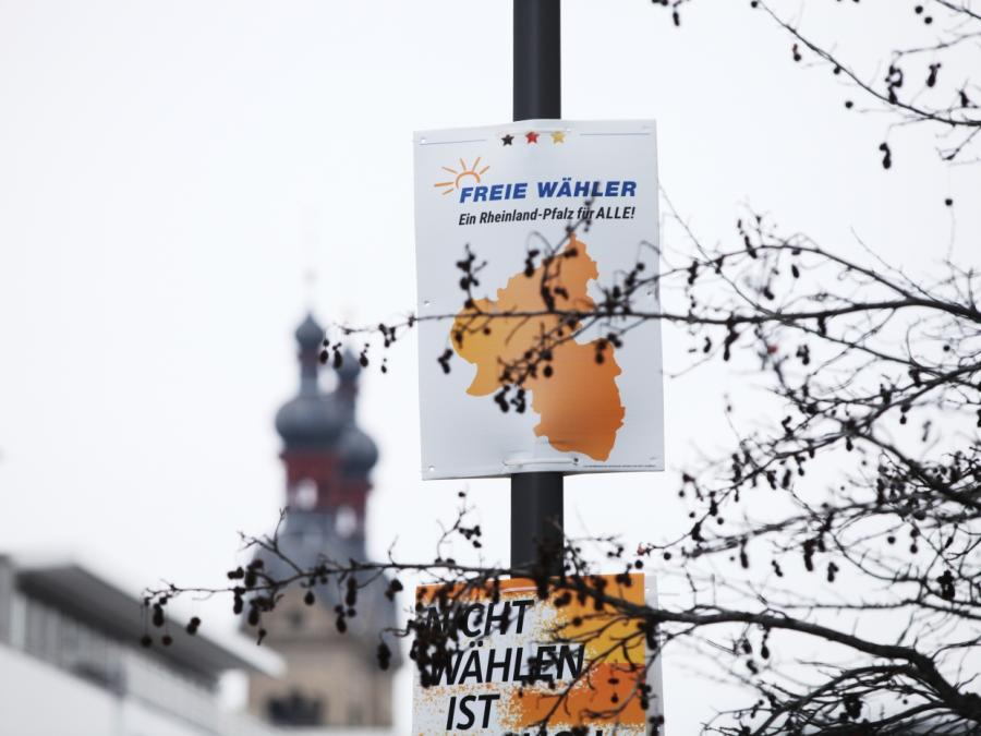 Politbarometer: Freie Wähler legen in Rheinland-Pfalz zu