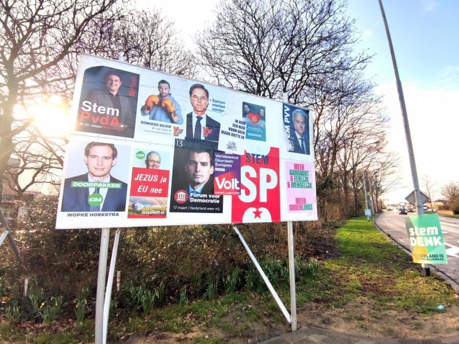 Niederlande wählt Parlament - Premier hofft auf Wiederwahl